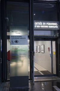 Entrée réservée © Hervé Véronèse, Centre Pompidou