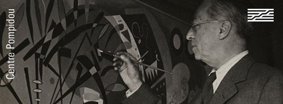 Vassily Kandinsky © Bernard Lipnitzki © Bibliothèque Kandinsky, Mnam/Cci, Centre Pompidou / Dist. RMN-GP